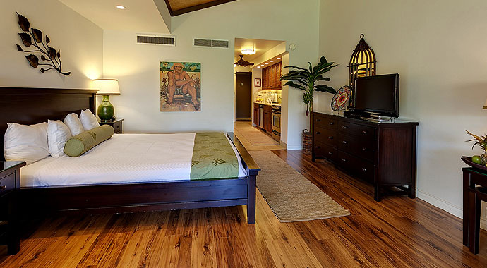 Rooms suites at maui kaanapali villas for Garden studio rooms