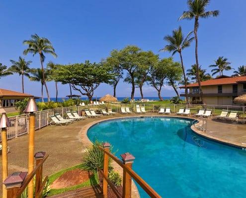 The pool at Aston Maui Kaanapali Villas