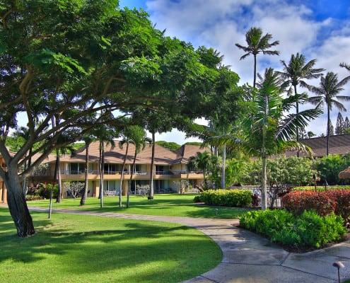 Maui Kaanapali Villas Grounds