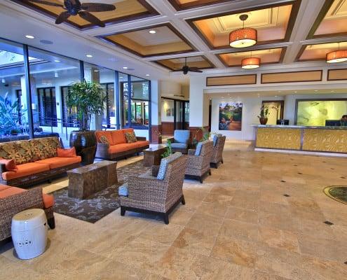 Maui Kaanapali Villas Lobby