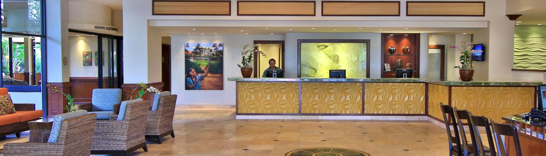 Lobby of the Maui Kaanapali Villas resort