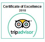 Certificate of Excellence - Trip Advisor