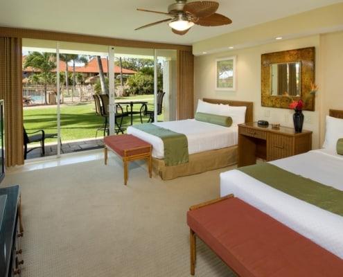 1-Bedroom Oceanside Bedroom
