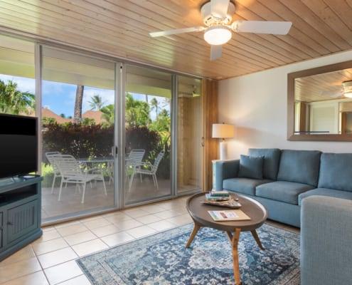 One Bedroom Suite Deluxe Living Area