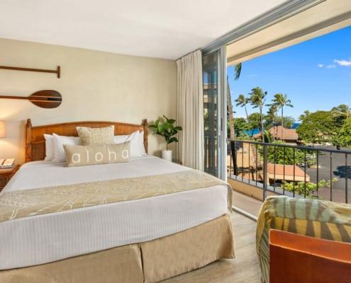 1 Bedroom Ocean View Suite Bedroom