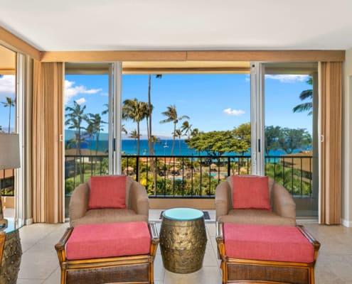 1-Bedroom Ocean View Premium Living Area