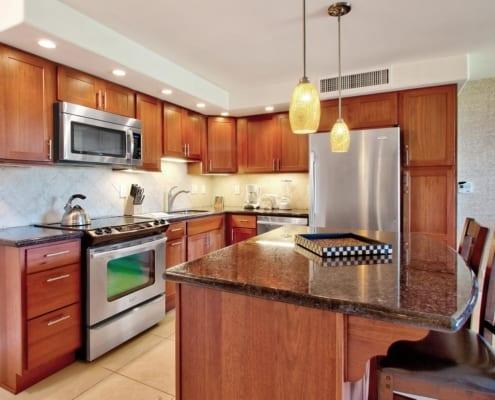 1-Bedroom Garden View Premium Kitchen