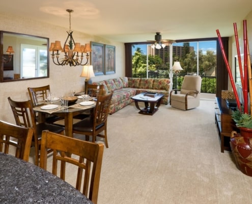 1-Bedroom Garden View Premium Living Area
