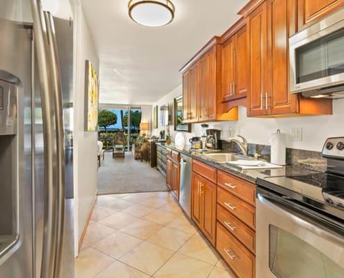Studio Garden View Deluxe Kitchen
