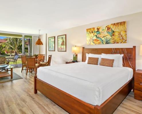 Studio Garden View Deluxe Bedroom