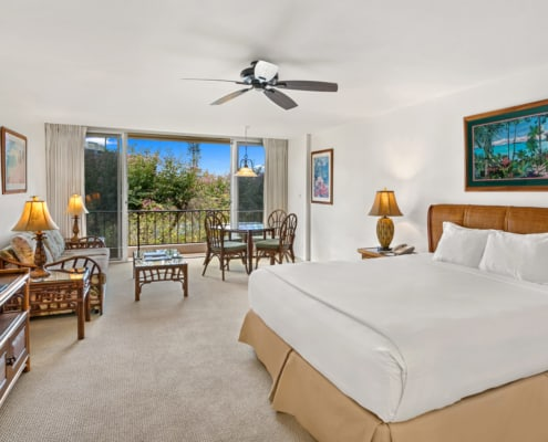 Studio Ocean View Bedroom